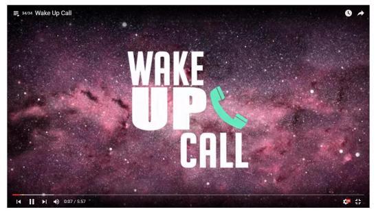 wake up callok